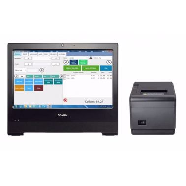 ANetCa + PC All-In-One Shuttle X50V4 + tiskárna Elio Q80I